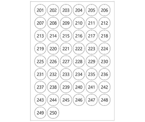 Laun IT Gantner 1103073_GL7p-Number-Sticker_201-250_0.jpg