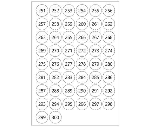 Laun IT Gantner 1103074_GL7p-Number-Sticker_251-300_0.jpg