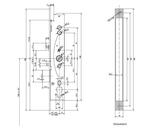 Laun IT Gantner 415725_Lock-AB-Distanzblech-235x24x3mm_0.jpg
